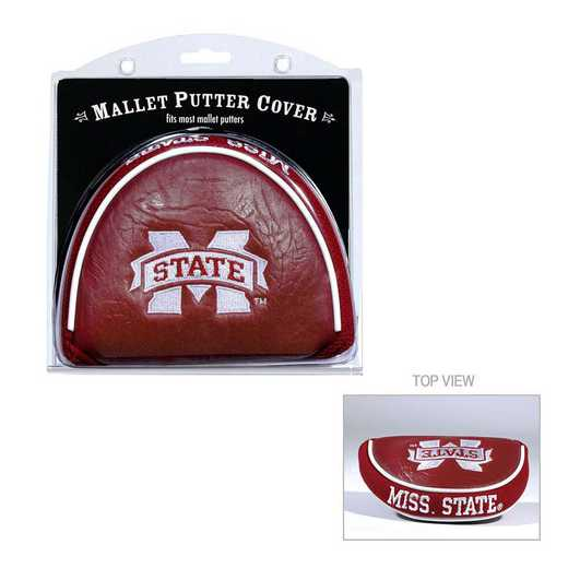 24831: Golf Mallet Putter Cover Mississippi State Bulldogs