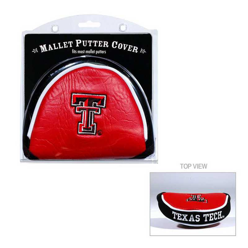 25131: Golf Mallet Putter Cover Texas Tech Red Raiders