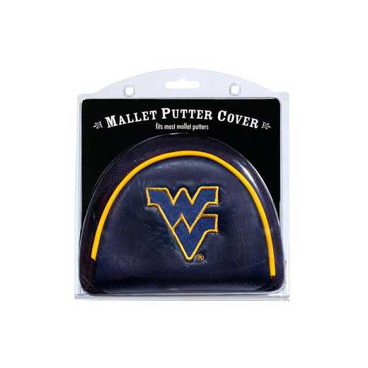 25631: Golf Mallet Putter Cover West Virginia Mountaineers