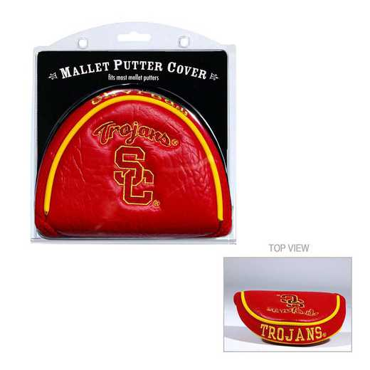 27231: Golf Mallet Putter Cover USC Trojans