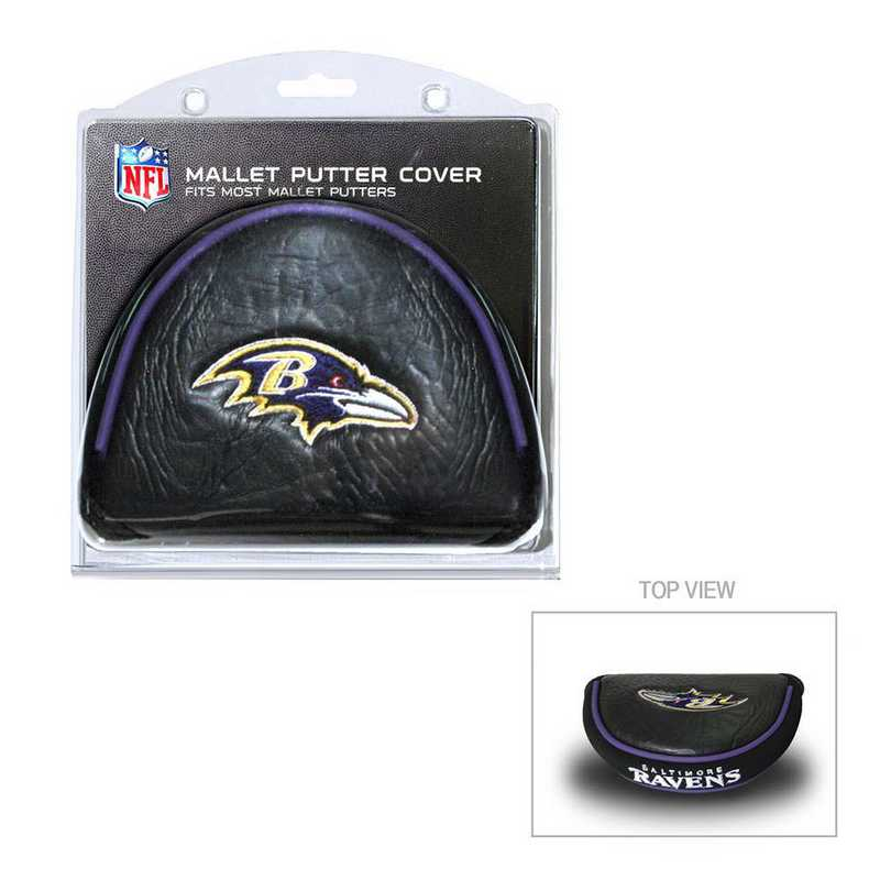 30231: Golf Mallet Putter Cover Baltimore Ravens