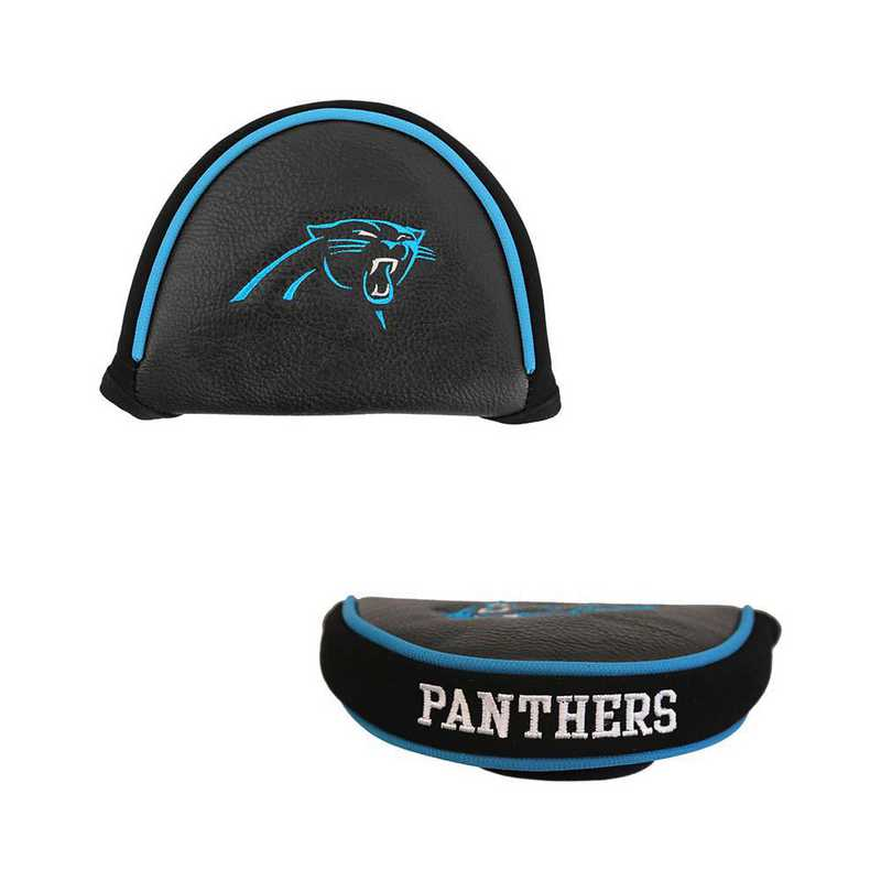 30431: Golf Mallet Putter Cover Carolina Panthers