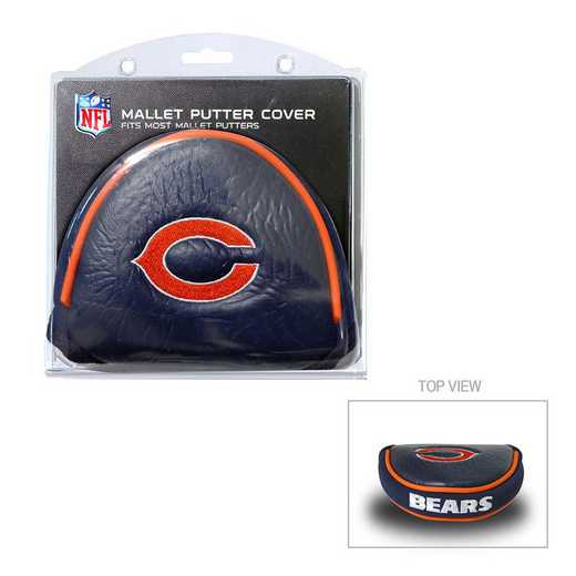 30531: Golf Mallet Putter Cover Chicago Bears