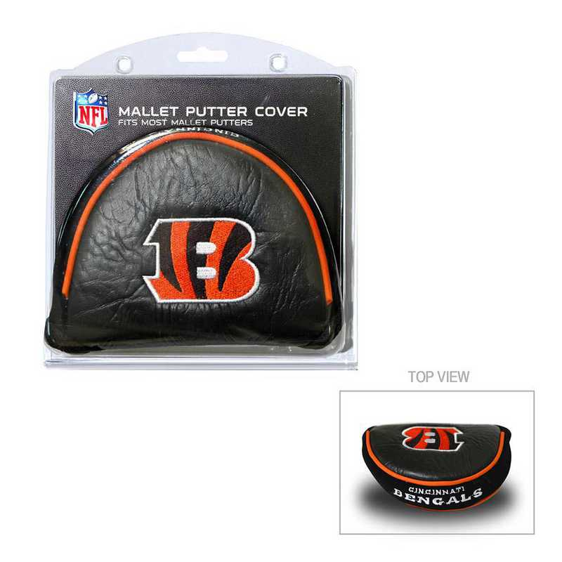 30631: Golf Mallet Putter Cover Cincinnati Bengals