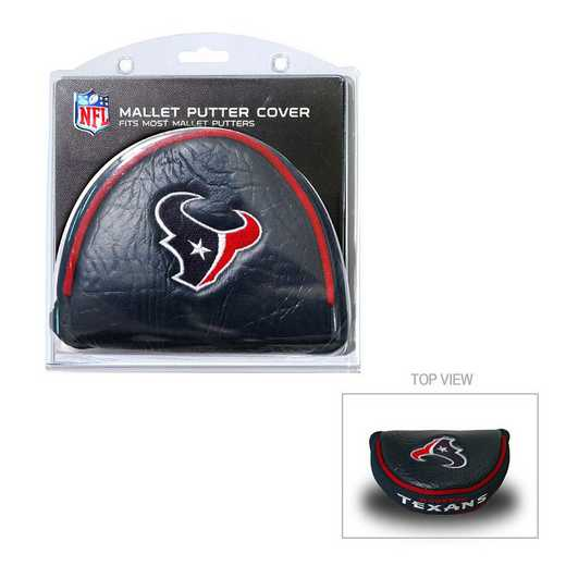 31131: Golf Mallet Putter Cover Houston Texans