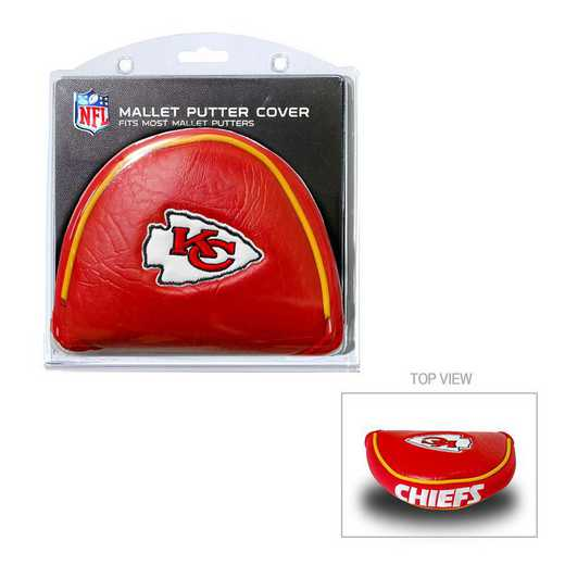 31431: Golf Mallet Putter Cover Kansas City Chiefs