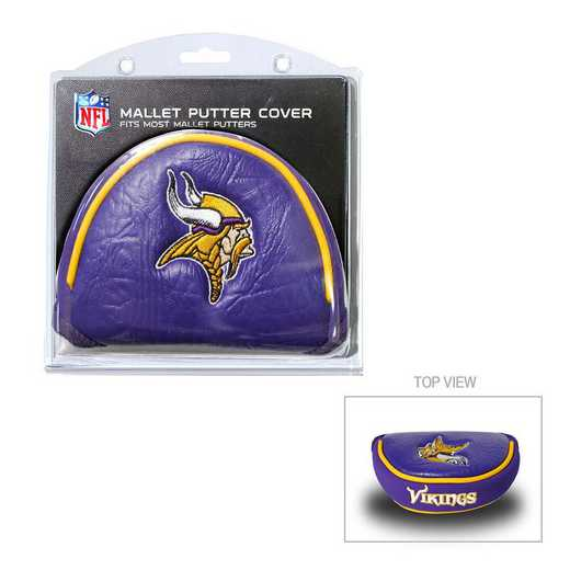 31631: Golf Mallet Putter Cover Minnesota Vikings