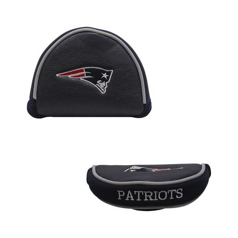 31731: Golf Mallet Putter Cover New England Patriots