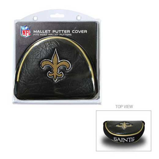 31831: Golf Mallet Putter Cover New Orleans Saints