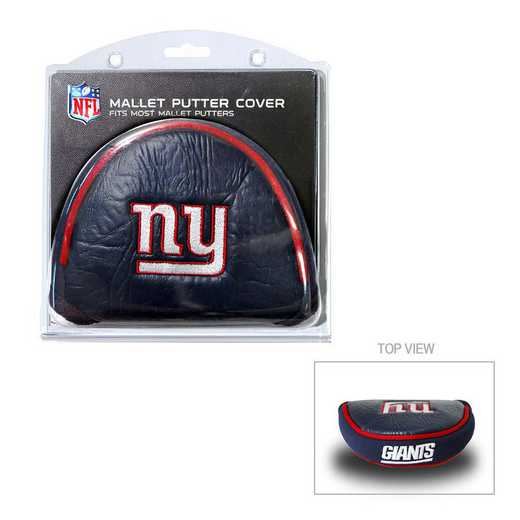 31931: Golf Mallet Putter Cover New York Giants