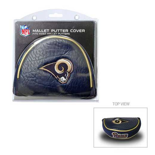32531: Golf Mallet Putter Cover Los Angeles Rams