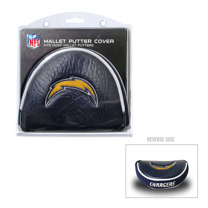 32631: Golf Mallet Putter Cover San Diego Chargers