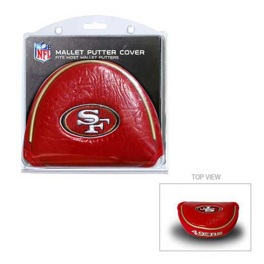 32731: Golf Mallet Putter Cover San Francisco 49ers