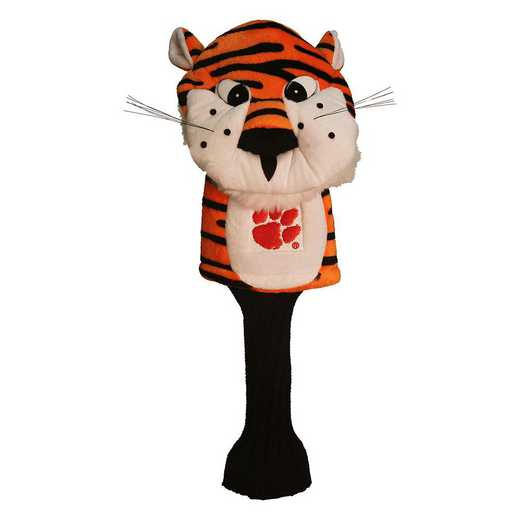 20613: Mascot Head Cover Clemson Tigers
