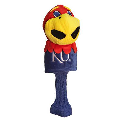 21713: Mascot Head Cover Kansas Jayhawks