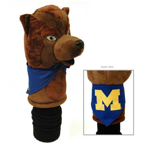 22213: Mascot Head Cover Michigan Wolverines