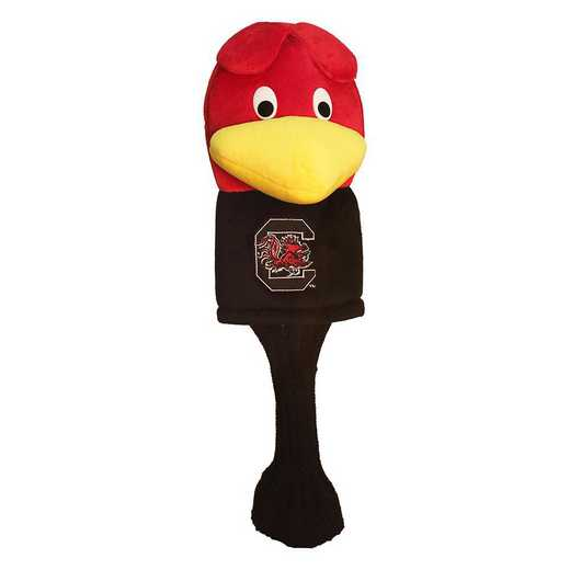 23113: Mascot Head Cover South Carolina Gamecocks