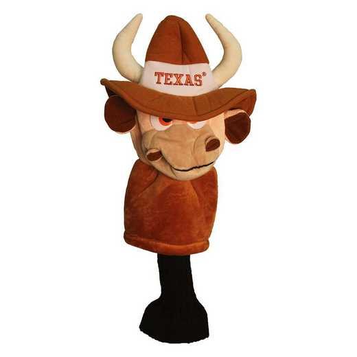 23313: Mascot Head Cover Texas Longhorns