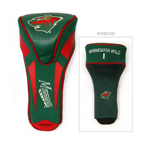 14368: Single Apex Driver Head Cover Minnesota Wild