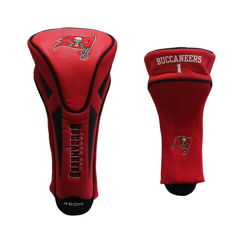 32968: Single Apex Driver Head Cover Tampa Bay Buccaneers