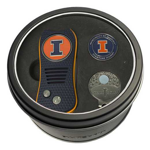21357: Tin GtST Swchfx DVT CpClip Ball Mkr Illinois Fighting Illini