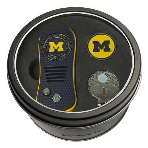 22257: Tin GtST Swchfx DVT CpClip Ball Mkr Michigan Wolverines