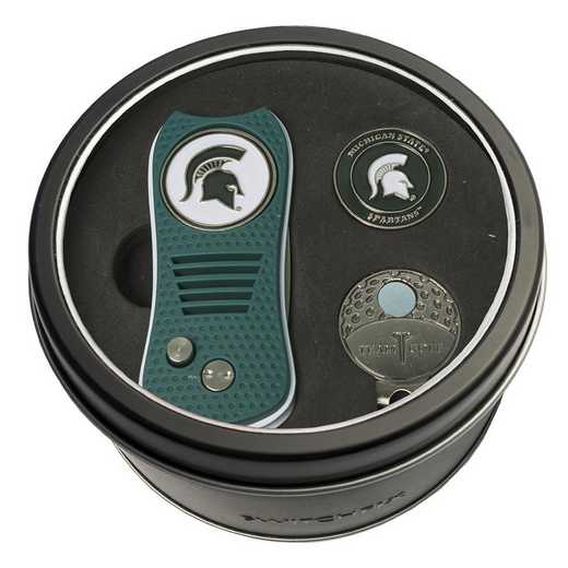 22357: Tin GtST Swchfx DVT CpClip Ball Mkr Michigan State Spartans