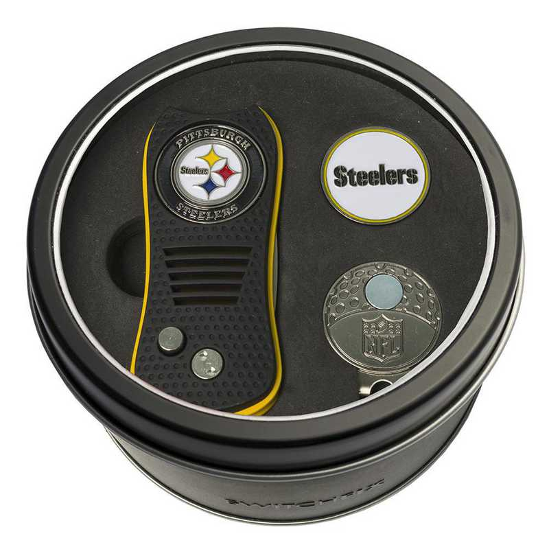 32457: Tin GtST Swchfx DVT CpClip Ball Mkr Pittsburgh Steelers