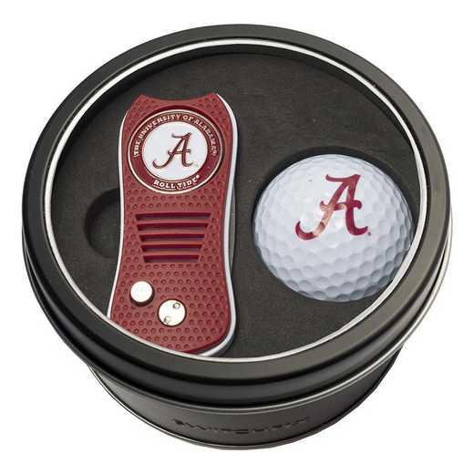 20156: Tin Gft St w/ Switchfix DVT Glf Ball Alabama Crimson Tide