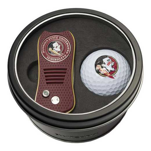 21056: Tin Gft St w/ Switchfix DVT Glf Ball Florida State Seminoles