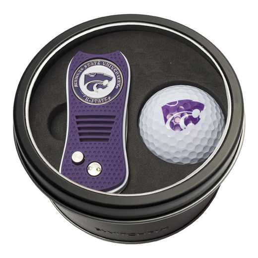 21856: Tin Gft St w/ Switchfix DVT Glf Ball Kansas State Wildcats