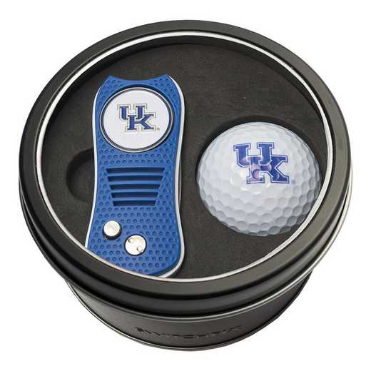21956: Tin Gft St w/ Switchfix DVT Glf Ball Kentucky Wildcats