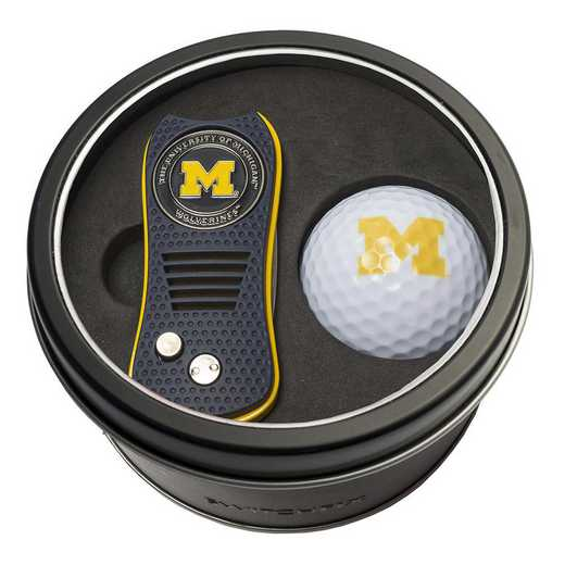 22256: Tin Gft St w/ Switchfix DVT Glf Ball Michigan Wolverines