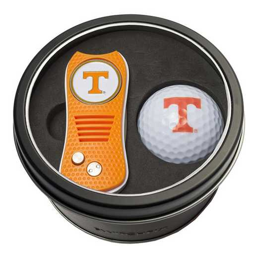 23256: Tin Gft St w/ Switchfix DVT Glf Ball Tennessee Volunteers