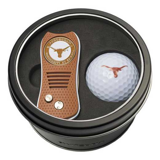 23356: Tin Gft St w/ Switchfix DVT Glf Ball Texas Longhorns