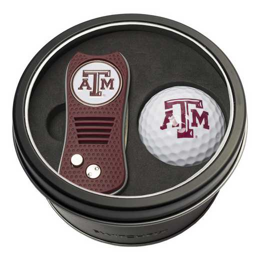 23456: Tin Gft St w/ Switchfix DVT Glf Ball Texas A&M Aggies