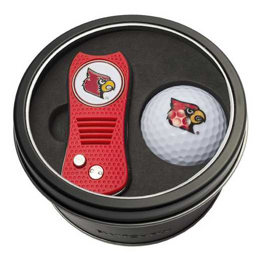 24256: Tin Gft St w/ Switchfix DVT Glf Ball Louisville Cardinals