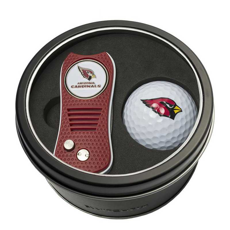30056: Tin Gft St w/ Switchfix DVT Glf Ball Arizona Cardinals