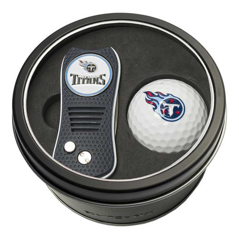 33056: Tin Gft St w/ Switchfix DVT Glf Ball Tennessee Titans