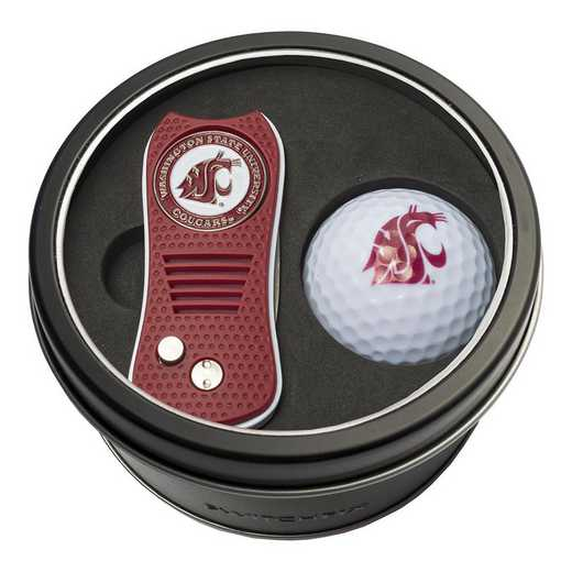 46256: Tin Gft St w/ Switchfix DVT Glf Ball Washington State Cougars