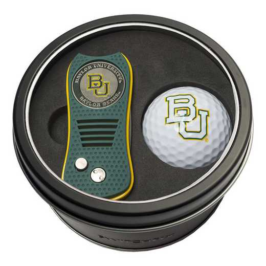 46956: Tin Gft St w/ Switchfix DVT Glf Ball Baylor Bears