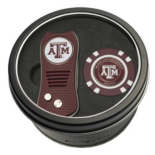 23453: Tin Gft StSwitchfix DVT Glf Chip Texas A&M Aggies