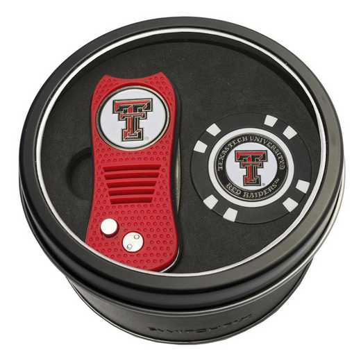25153: Tin Gft StSwitchfix DVT Glf Chip Texas Tech Red Raiders