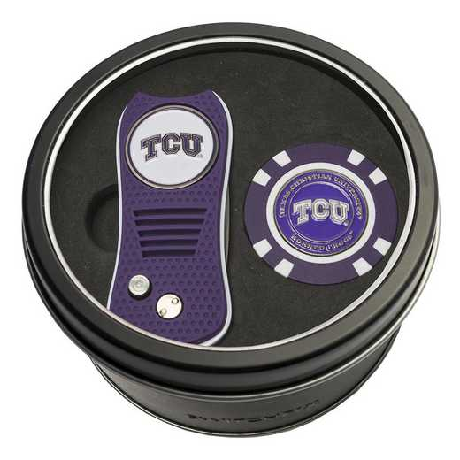 25353: Tin Gft StSwitchfix DVT Glf Chip TCU Horned Frogs