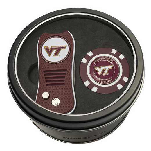 25553: Tin Gft StSwitchfix DVT Glf Chip Virginia Tech Hokies