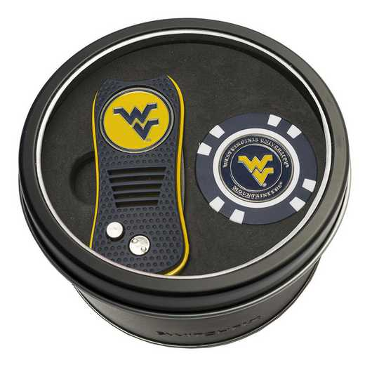 25653: Tin Gft StSwitchfix DVT Glf Chip West Virginia Mountaineers