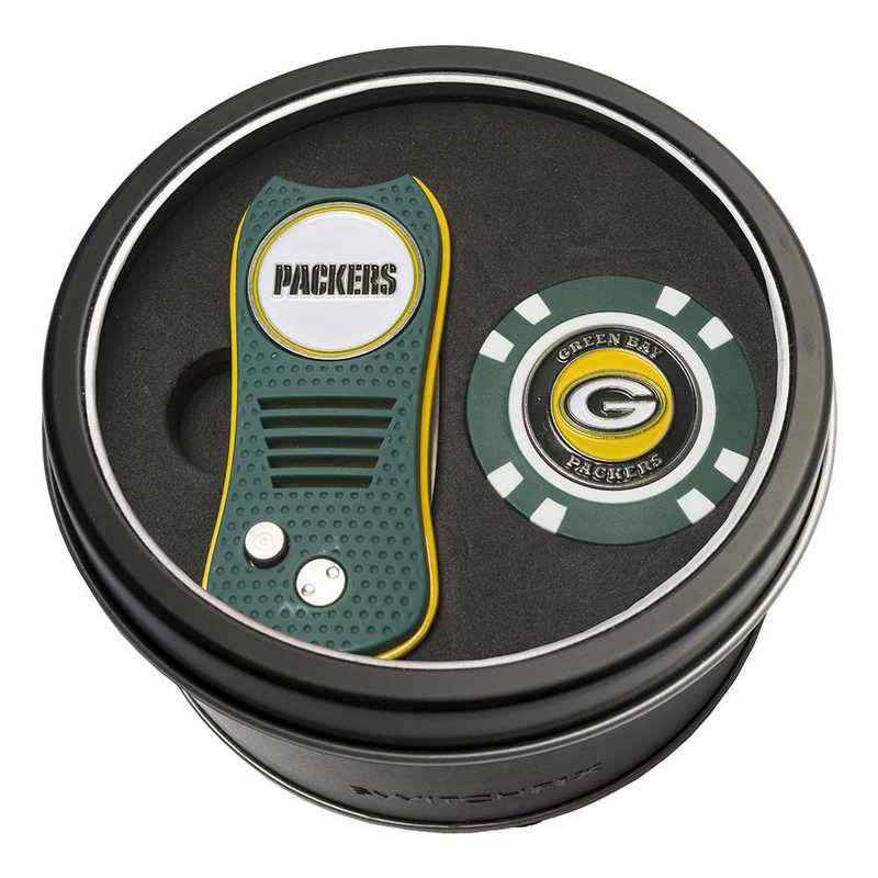 31053: Tin Gft StSwitchfix DVT Glf Chip Green Bay Packers