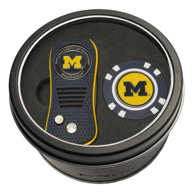 22253: Tin Gft StSwitchfix DVT Glf Chip Michigan Wolverines