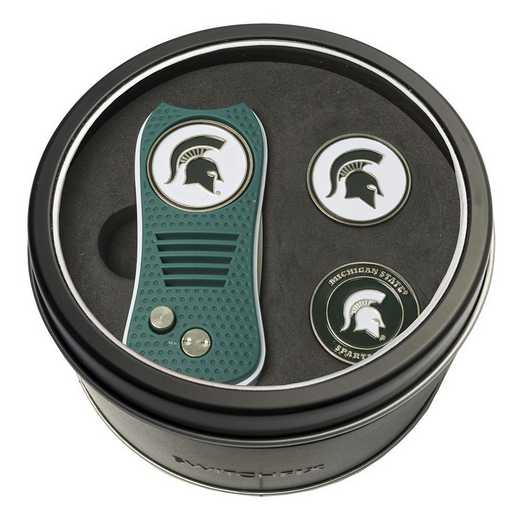 22359: Tin GftSt Swtchfix 2BallMkrs Michigan State Spartans
