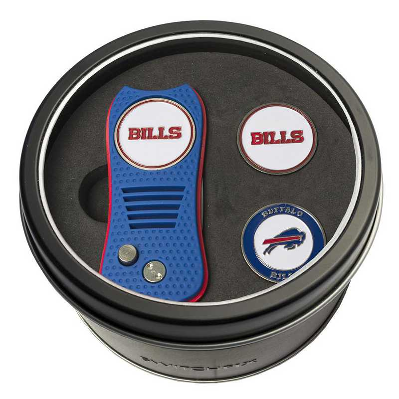 30359: Tin GftSt Swtchfix 2BallMkrs Buffalo Bills
